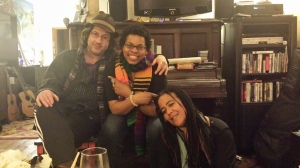 Toni Love with Robb and Pauline Houston McCall